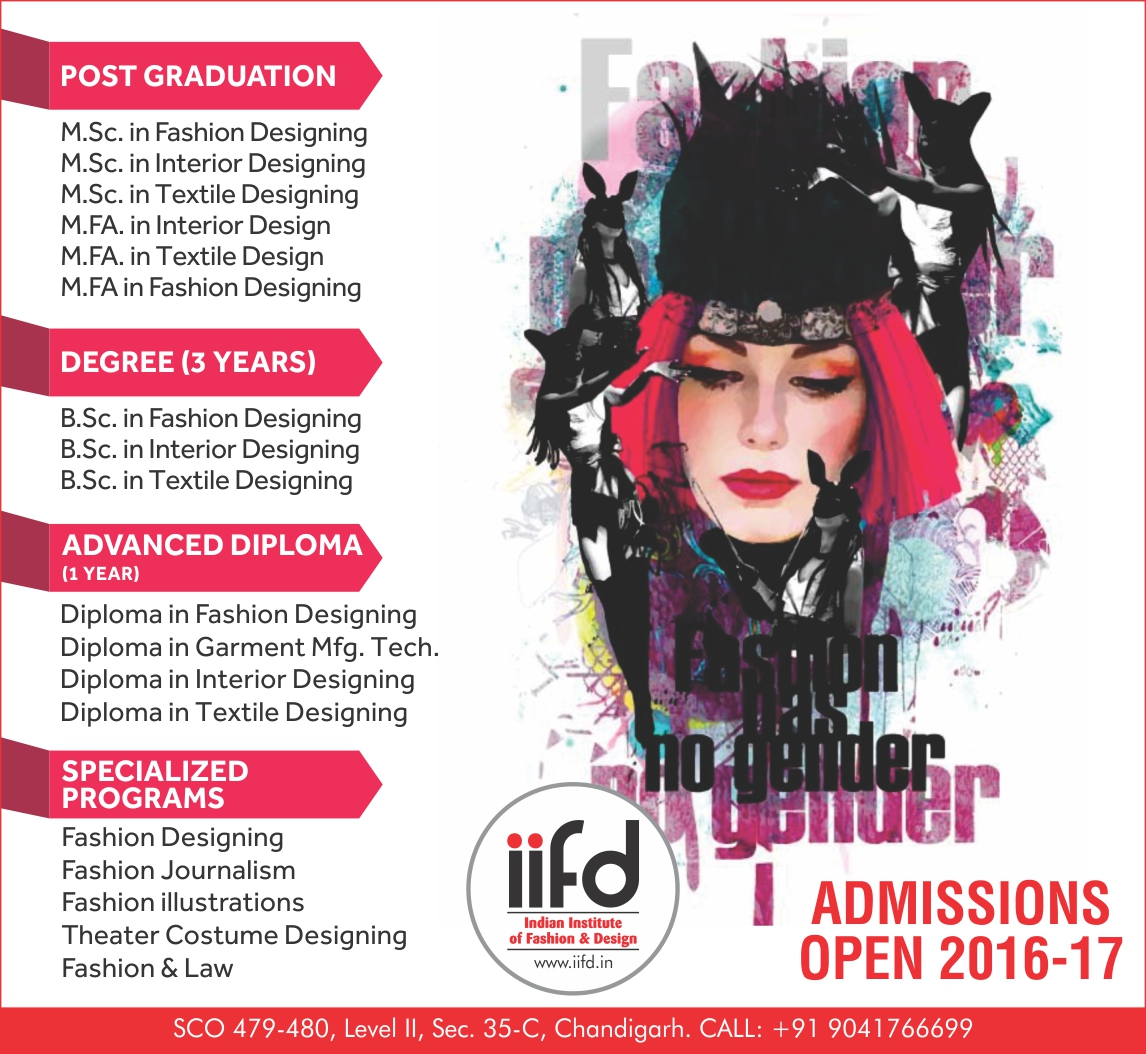 Admission Open In Fashion Designing Institute Chandigarh