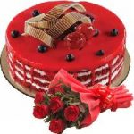 Online fresh cake and flowers delivery in Delhi